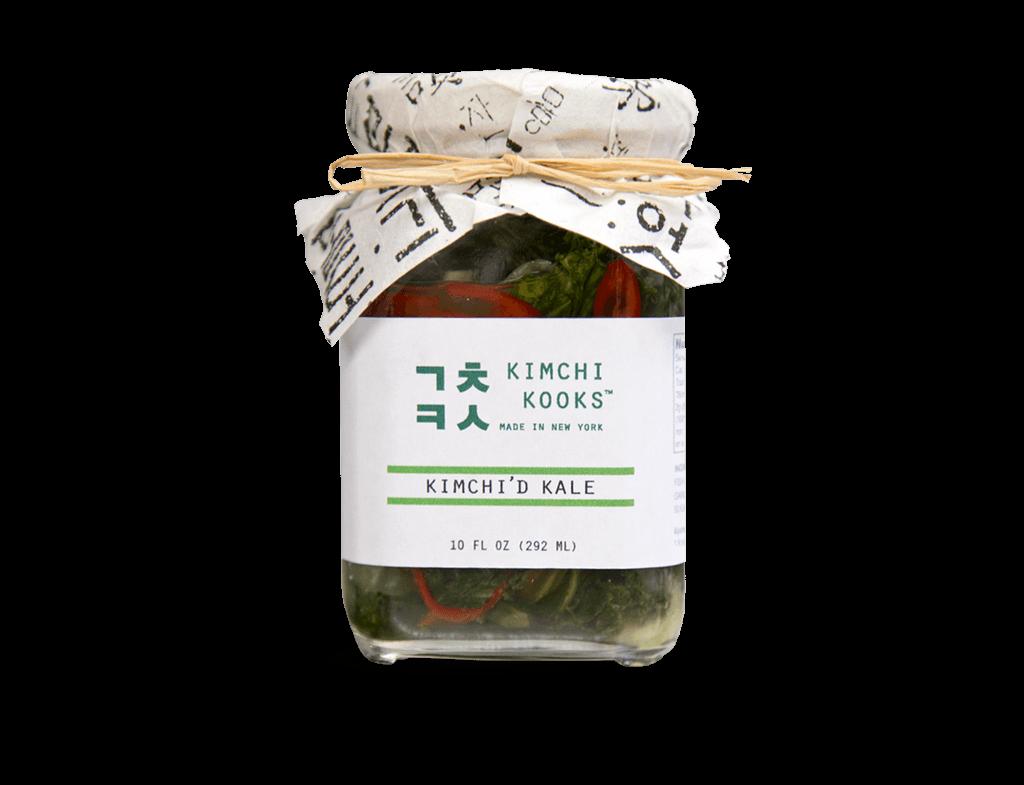 Kimchi'd Kale